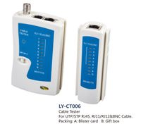 Cable Tester for UTP/STP RJ45, RJ11, RJ12 & BNC cables, LY-CT006