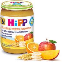 Hipp пюре био мультизлаки и фрукты, 6+мес. 190г