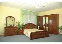 Спальня Примулa шкаф с 6 дверями, орех