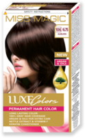 Vopsea p/u păr, SOLVEX Miss Magic Luxe Colors, 108 ml., 106 (6.75) - Șaten roșcat