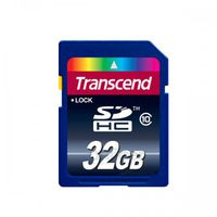 SDcard Transcend (TS32GSDHC10), 32 GB