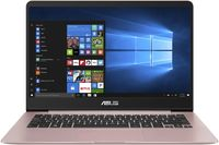 """NB ASUS 14.0"""" Zenbook UX430UA Rose (Core i5-8250U 8Gb 256Gb Win 10) 14.0"""" Full HD (1920x1080) Non-glare, Intel Core i5-8250U (4x Core, 1.6GHz - 3.4GHz, 6Mb), 8Gb (OnBoard) PC3-14900, 256Gb M.2, Intel HD Graphics, micro HDMI, 802.11ac, Bluetooth, 1x USB 3.1 Type C, 1x USB 3.0, 1x USB 2.0, Card Reader, HD Webcam, Windows 10 Home RU, 3-cell 50 WHrs Polymer Battery, Illuminated Keyboard, 1.3kg, Rose Gold"""