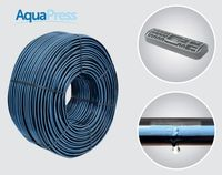купить Трубка  для капельного орошения AQUAPRESS-PC dn16mm/33cm/2,2l.h./MINIM 0,5bar/45mil Plastic Puglia в Кишинёве