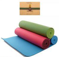 Коврик для йоги 182х65х0.6 см TPE YG-018 VFUA (2285)