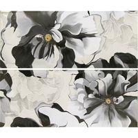 Latina Ceramica Декор Conjunto Sabina Negro 25x60см 2шт