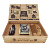 DEAR BARBER COLLECTION III BEARD GROOMING SET
