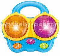 "Baby Mix PL-430133 Музыкальная игрушка ""Барабан"" голубой"