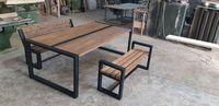 Комплект: стол+скамейки для отдыха
