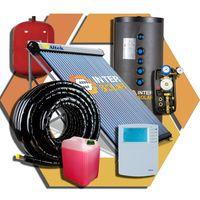 Система солнечного горячего водоснабжения на 1000л + отопление