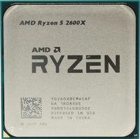 AMD Ryzen 5 2600X, Socket AM4, 3.6-4.2GHz (6C/12T), 16MB L3, 12nm 65W, Box (with Wraith Spire Cooler)