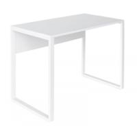Офисный стол DP B-100, White/White legs