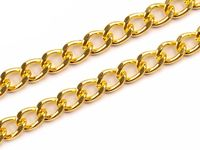 Handbag chain, 120 cm, gold
