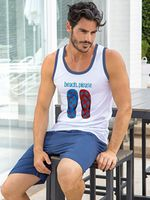 Пижама мужская ENRICO COVERI EA2025