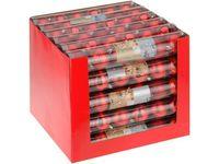 купить Набор шаров 6X60mm, красные (мат/глянц), в тубе в Кишинёве