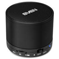 SVEN PS-45BL 3W, Black Bluetooth Portable Speaker