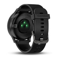 купить GARMIN Vivomove HR Sport Black with Black Silicone Band, Large, Heart RATE, Activity Tracker, Barometric altimeter, Accelerometer, Smart notifications, Weather, Step counter, Move bar, Calories burned, Floors climbed, Analog hands, Bluetooth в Кишинёве