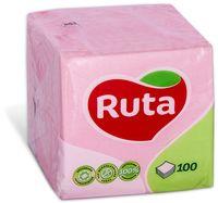 RUTA Салфетки столовые РУТА/100 розовые