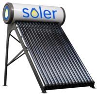Солер-200 литров экономичный солнечный водонагреватель