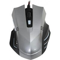 купить Omega OM0267  Mouse gaming 800-1200-2400 6D Silver/Black в Кишинёве