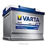 купить 12V 60AH 540A VARTA  242x175x190 в Кишинёве
