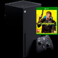 Microsoft Xbox Series X + Cyberpunk 2077, Black