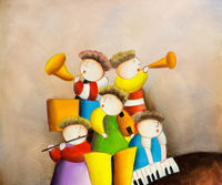 Oil Paintings Music band (PEO15000963)
