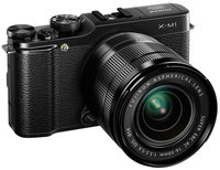Fujifilm X-M1 Kit (Official Warranty), Black