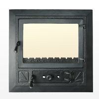 Дверца чугунная со стеклом Weekend - Favorit