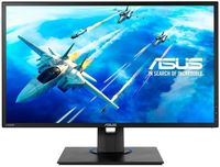 "24.0"" ASUS ""VG245HE"", Black (1920x1080, FreeSync 1ms, 250cd, LED100M:1, D-Sub+HDMI, Speakers, Pivot) (24.0"" TFT+LED backlight, Full HD(16:9) 1920x1080, 0.2768mm, 1ms GTG, DC100000000:1 (1000:1), 250cd/m2, 170°/160°, Vertical Refresh Rate: 1920x1080@75Hz, D-Sub, HDMI x2, Speakers: 2W x 2 Stereo RMS, Height adjustment, Pivot, GameFast Input Technology, Free-SYNC™, Black)"