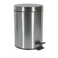 Корзина для мусора с педалью Freedom Fresh, 12L, сатинированная нержавеющая сталь