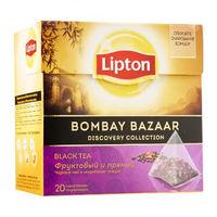 Lipton Diamond черный чай  Bombey Bazaar, 20 пак.