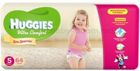 Huggies Ultra Comfort Giga Girl 5 (12-22 кг.) 64 шт.