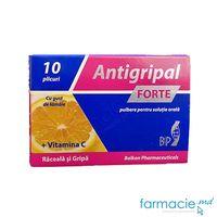Antigripal FORTE Cu gust de lamaie pulb./sol. orala N10