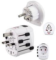 Адаптер электрический Hama 128200 World PRO Plus