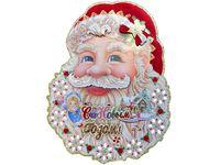 """купить Картинка-декор на окно/стену """"Дед Мороз"""" (лицо) 54cm в Кишинёве"""