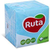 RUTA Салфетки столовые РУТА/100 голубые
