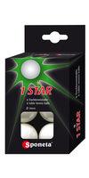 купить Мячик для настольного тенниса Sponeta 1 star (3114) в Кишинёве