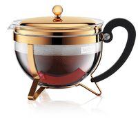 Чайник заварочный Bodum 1165617 Chambord 1.3L Gold