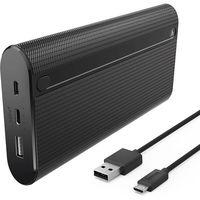 Аккумулятор внешний USB Hama 178985 X20 20.000 mAh