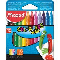 MAPED Карандаши восковые MAPED, 12 цветов