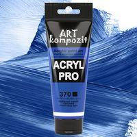 Краска акриловая Art Kompozit, (370) Кобальт синий светлый, 75 мл