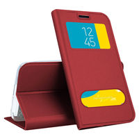 Чехол Samsung Galaxy  A50 (A505) flip case,Red