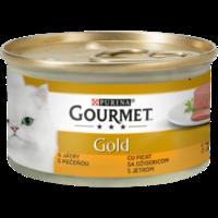 Gourmet Gold с печенью 85гр