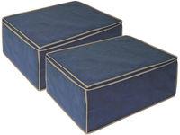 купить Чехол для хранения 60X46X26cm BLUE, тканевый в Кишинёве