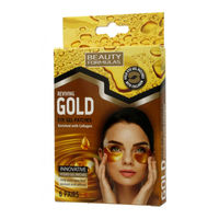 Beauty Formulas Reviving Gold Gel Eye Patches with Collagen 6 Pairs - Гелевые патчи под глаза