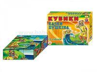 """Technok Tois 0281 Кубики  """"Сказки Пушкина"""""""