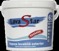 Краска водоэмульсионная фасадная LavaStar 6,3 кг