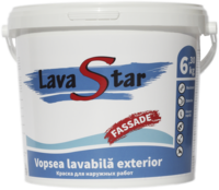 Vopsea lavabila exterior LavaStar 6,3 kg