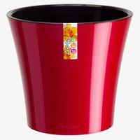 Вазон 1,2 L.  красный-черный