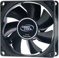 Вентилятор корпуса ПК Deepcool XFAN80, 80x80x25mm, 20.3dB, 21.8CFM, 1800RPM, Hydro Bearing
